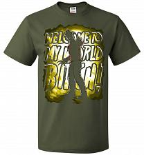 Buy Freddy Krueger Welcome To My World B! Adult Unisex T-Shirt Pop Culture Graphic Tee (X