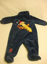 Buy Disney Baby Romper Holidays Blue Tiger 3 Months 75% Cotton 25% Polyester