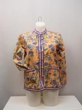 Buy Womens Windsor Jacket SIZE M Floral Long Sleeve Career Pockets TUDOR COURT