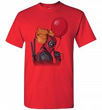 Buy IT is Deadpool Unisex T-Shirt Pop Culture Graphic Tee (M/Red) Humor Funny Nerdy Geeky