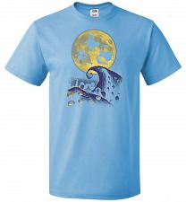 Buy Hocus Pocus Halloween Unisex T-Shirt Pop Culture Graphic Tee (M/Aquatic Blue) Humor F