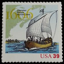 Buy 2006 39c Samuel de Champlain, East Coast Scott 4073 Mint F/VF NH