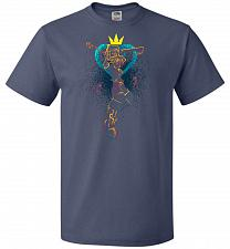 Buy Shadow Of The Hearts Unisex T-Shirt Pop Culture Graphic Tee (4XL/Denim) Humor Funny N
