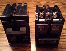 Buy Lot of 2: Crouse Hinds 20A 2 Pole Circuit Breakers