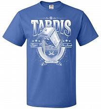 Buy Anywhere and Everywhere Tardis Unisex T-Shirt Pop Culture Graphic Tee (2XL/Royal) Hum
