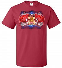 Buy Red Ranger Unisex T-Shirt Pop Culture Graphic Tee (S/True Red) Humor Funny Nerdy Geek