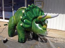 "Buy Huge 120""L Inflatable Triceratops Party jungle museum zoo Jurassic Gifts"