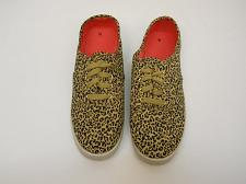 Buy Womens Canvas Shoes Size 10 Animal Print Lace Up Fabric Upper Flexible Outsole