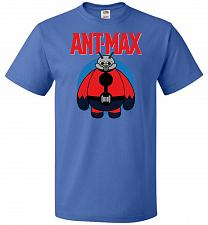 Buy Ant-Max Unisex T-Shirt Pop Culture Graphic Tee (4XL/Royal) Humor Funny Nerdy Geeky Sh
