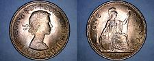 Buy 1967 Great Britain 1 Penny World Coin - UK - England