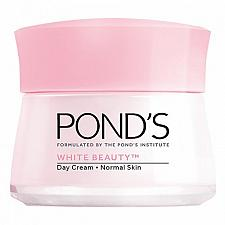Buy Pond's White Beauty Day Cream Spotless Rosy Whitening Normal Skin Serum 50 grams
