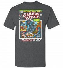 Buy Born Leader Samcro Rider Unisex T-Shirt Pop Culture Graphic Tee (M/Dark Heather) Humo