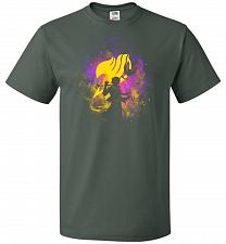Buy Dragneel Art Unisex T-Shirt Pop Culture Graphic Tee (M/Forest Green) Humor Funny Nerd