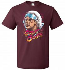 Buy Great Scott Unisex T-Shirt Pop Culture Graphic Tee (XL/Maroon) Humor Funny Nerdy Geek