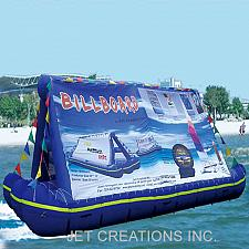 Buy JETSUP Inflatable Airtight Advertising Billboard Signage, Size 23 feet