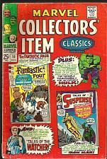 Buy Marvel Collector's Item Classics #10 COMICS 1967 FF TOS Hulk Watcher Iron Man