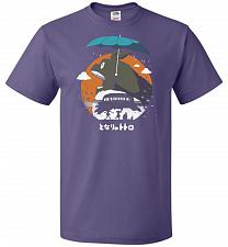 Buy The Neighbors Journey Unisex T-Shirt Pop Culture Graphic Tee (2XL/Purple) Humor Funny
