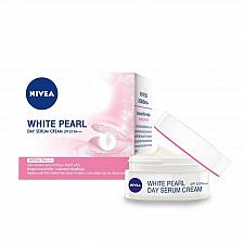 Buy Nivea White Pearl Skin Whitening Pore Minimizer Day Serum Cream SPF 33 50ml