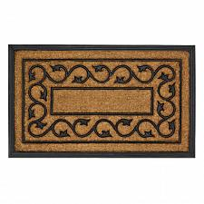 "Buy *17415U - Entry Way Rubber & Coir 30"" Door Mat Ivy Vines"