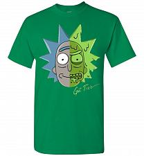 Buy Get Toxic Rick and Morty Unisex T-Shirt Pop Culture Graphic Tee (L/Turf Green) Humor