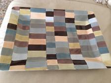 Buy beautiful ceramic serving platter tabletops lifestyles Charleston hand painted