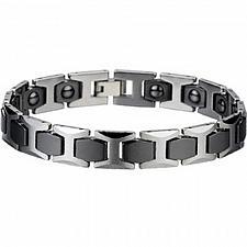 Buy coi Jewelry Tungsten Carbide Bracelet With Ceramic - TG2086