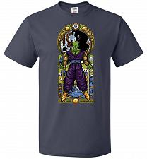 Buy Namekian Warrior Unisex T-Shirt Pop Culture Graphic Tee (4XL/J Navy) Humor Funny Nerd