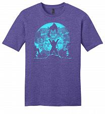 Buy Saiyan Sized Secret Youth Unisex T-Shirt Pop Culture Graphic Tee (XL/Heathered Purple
