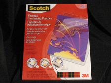 Buy Scotch Thermal Laminating Pouches 8.5 x 11 Inches 3 mil thick 50 Pack