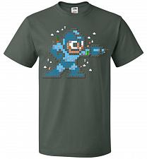 Buy Mega Maker Unisex T-Shirt Pop Culture Graphic Tee (M/Forest Green) Humor Funny Nerdy