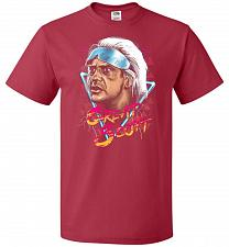 Buy Great Scott Unisex T-Shirt Pop Culture Graphic Tee (6XL/True Red) Humor Funny Nerdy G