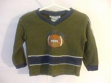 Buy Toddlers Green Shirt Long Sleeves 18 Months Cotton Blend Wilson