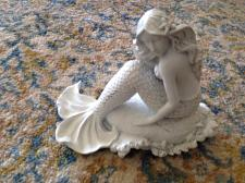 "Buy get your mermaid on! ceramic mermaid approximately 6"" x 7"""