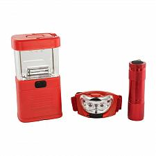 Buy :10902U - Emergency LED Lantern Flashlight Headlight 3pc Set
