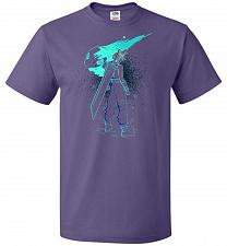 Buy Shadow Of The Meteor Unisex T-Shirt Pop Culture Graphic Tee (S/Purple) Humor Funny Ne
