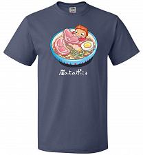 Buy Noodle Swim Unisex T-Shirt Pop Culture Graphic Tee (XL/Denim) Humor Funny Nerdy Geeky