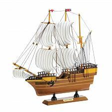 "Buy *18456U - Mayflower 12"" Wood Replica Model Ship"