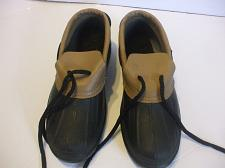 Buy Weather Guard Duck Shoes Brown Black Size 6 Kids 9.5 Inches