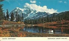 Buy Picture Lake Mt Shuksan Postcard Pacific Northwest Alaska