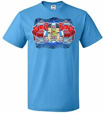 Buy Red Ranger Unisex T-Shirt Pop Culture Graphic Tee (6XL/Pacific Blue) Humor Funny Nerd