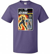 Buy GI KAI Unisex T-Shirt Pop Culture Graphic Tee (L/Purple) Humor Funny Nerdy Geeky Shir
