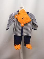 Buy CHILD OF MINE Baby Boys 3 Piece Legging Set Blue Striped Tiger Size Newborn