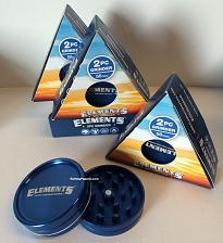 """Buy Elements Cigarette Rolling Papers 2PC GRINDER 56MM/ 2.2"""" SIZE Magnetic Closure"""