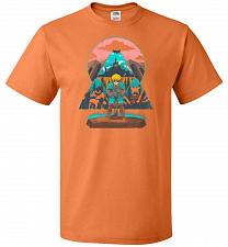 Buy Wild On! Unisex T-Shirt Pop Culture Graphic Tee (M/Tennessee Orange) Humor Funny Nerd