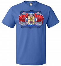 Buy Red Ranger Unisex T-Shirt Pop Culture Graphic Tee (M/Royal) Humor Funny Nerdy Geeky S