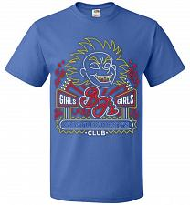 Buy Bjs Gentleghost's Club Adult Unisex T-Shirt Pop Culture Graphic Tee (2XL/Royal) Humor