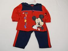 Buy DISNEY Infant Baby Boys 2PC Pant Hoodie Set Red Mickey Size 0-3M Long Sleeves