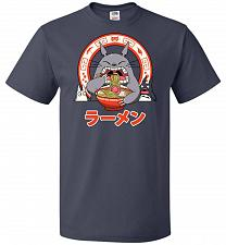 Buy The Neighbor's Ramen Unisex T-Shirt Pop Culture Graphic Tee (5XL/J Navy) Humor Funny