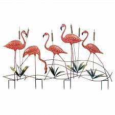 Buy *18330U - Pink Flamingo 5 Birds Yard Art Garden Stake