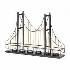 Buy *15495U - Golden Gate Suspension Bridge Metal Votive Candle Holder